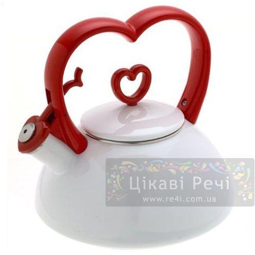 Чайник «Сердце», фото
