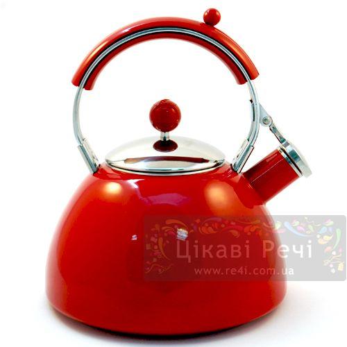 Чайник «Джорней красный», фото