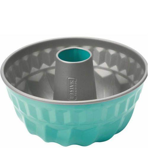 Форма для кекса Kaiser Backform Color темно-бирюзовая 22 см, фото
