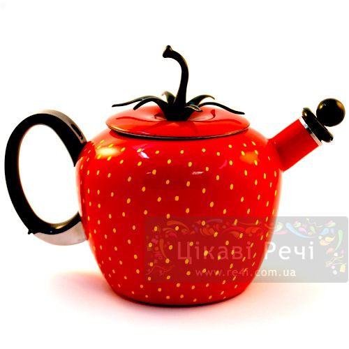 Чайник «Клубника», фото