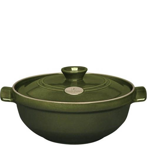 Казан Emile Henry Flame керамический жаропрочный 3.6 л Olive, фото