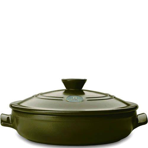 Жаровня Emile Henry Olive керамическая жаропрочная 3.2 л, фото