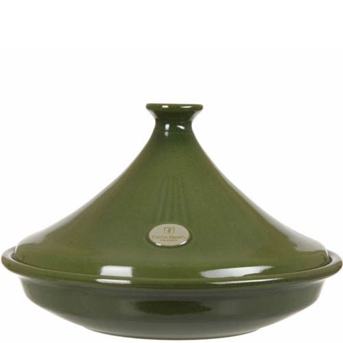 Тажин Emile Henry Flame Olive большой 3.5 л керамический с крышкой, фото