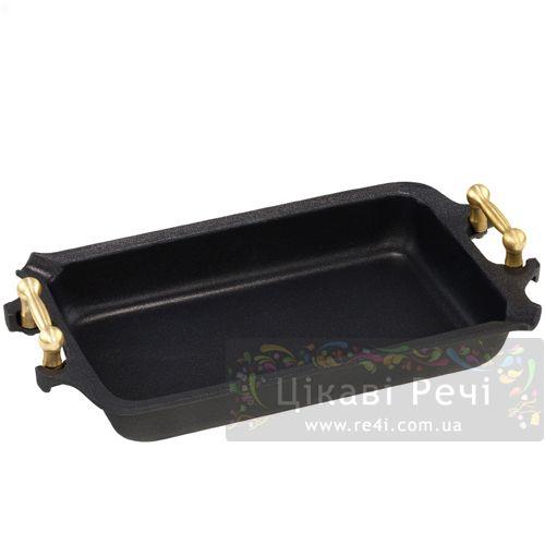Жаровня AMT GastroGuss Titan Platinum прямоугольная, фото
