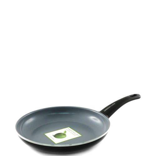 Сковорода Green Life Жить здорово 26 см черная антипригарная, фото