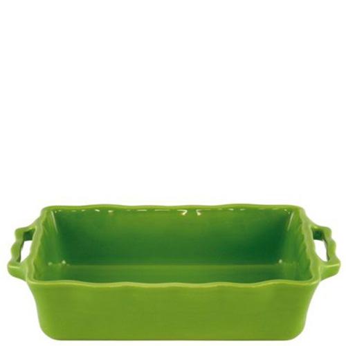 Форма прямоугольная Appolia Delices зеленого цвета 42х26см
