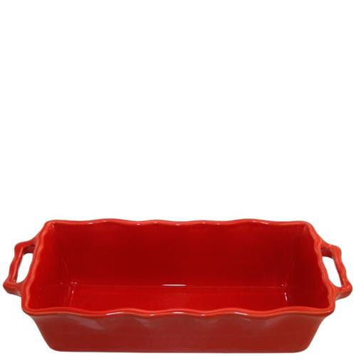 Форма для кекса Appolia красного цвета из керамики 33см х 13.5см