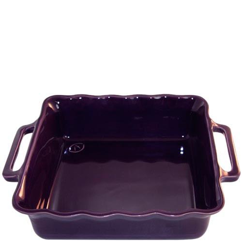 Керамическая квадратная форма для выпечки Appolia фиолетового цвета 24.5см