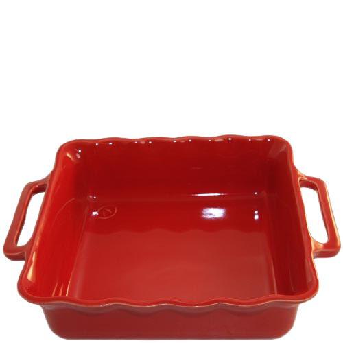 Керамическая квадратная форма для выпечки Appolia красного цвета 27.5см