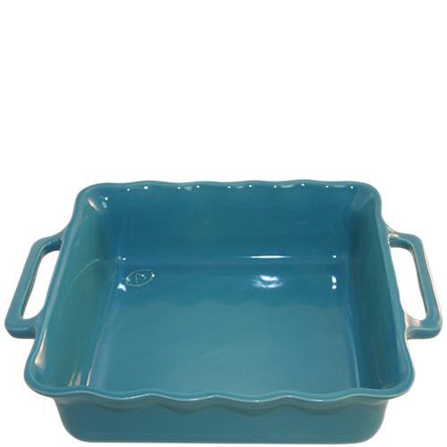 Керамическая квадратная форма для выпечки Appolia голубого цвета 27.5см