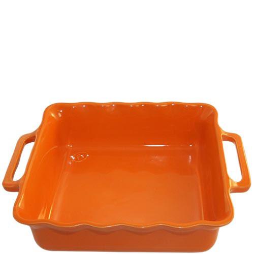Керамическая квадратная форма для выпечки Appolia оранжевого цвета 27.5см