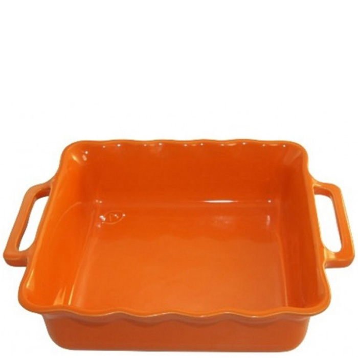 Форма квадратная Appolia Delices оранжевого цвета 34,5см