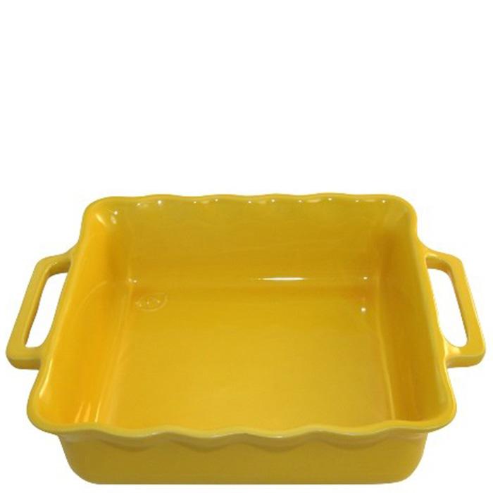 Форма квадратная Appolia Delices желтого цвета 34,5см