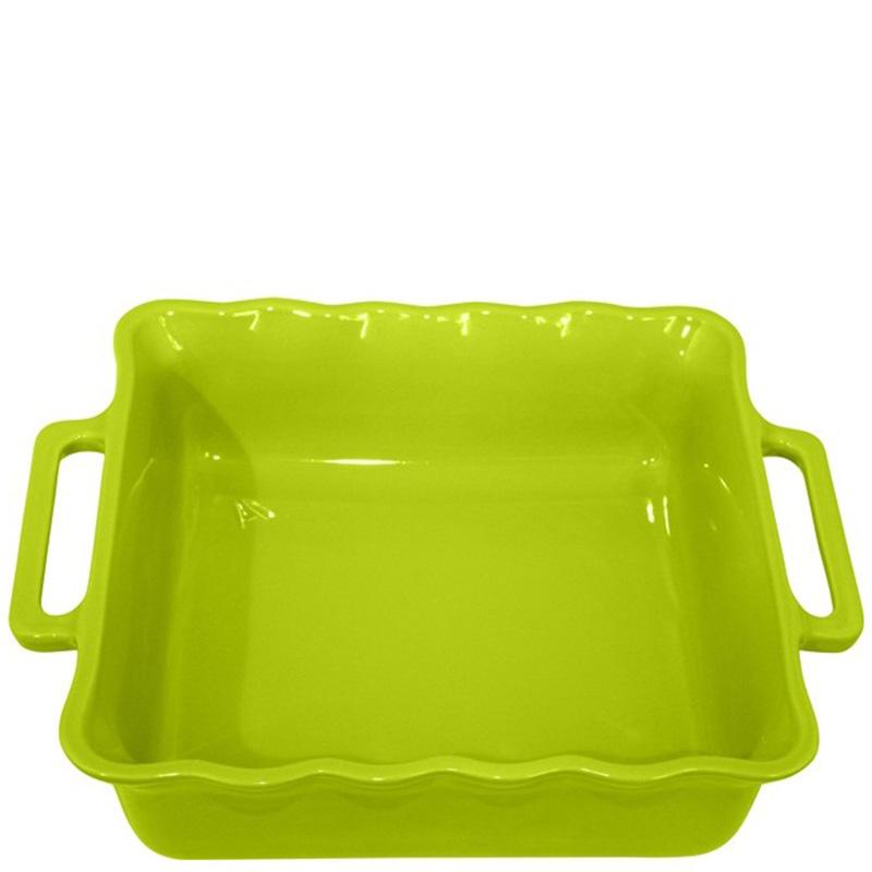 Форма квадратная Appolia Delices зеленого цвета 38,5см