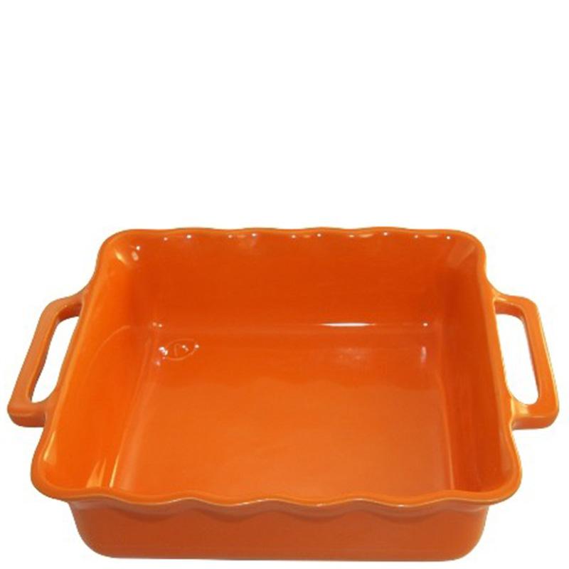 Форма квадратная Appolia Delices оранжевого цвета 38,5см