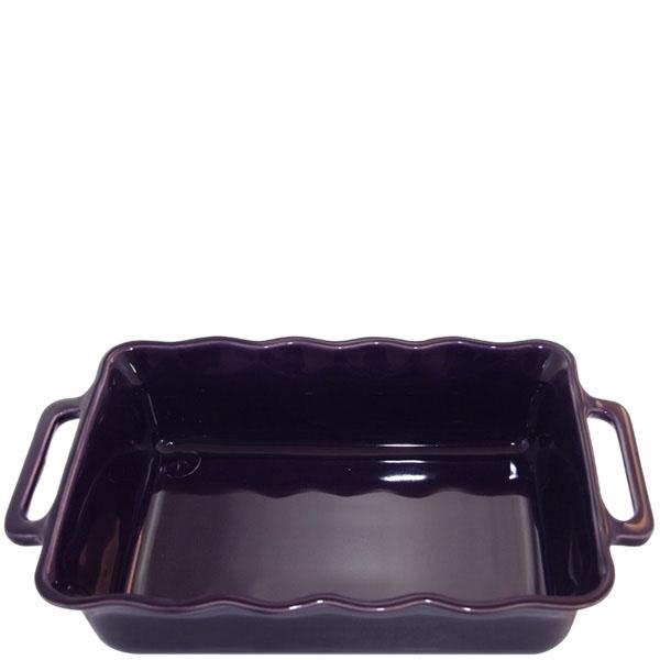 Керамическая прямоугольная форма для выпечки Appolia фиолетового цвета