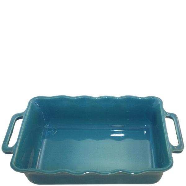Керамическая прямоугольная форма для выпечки Appolia голубого цвета