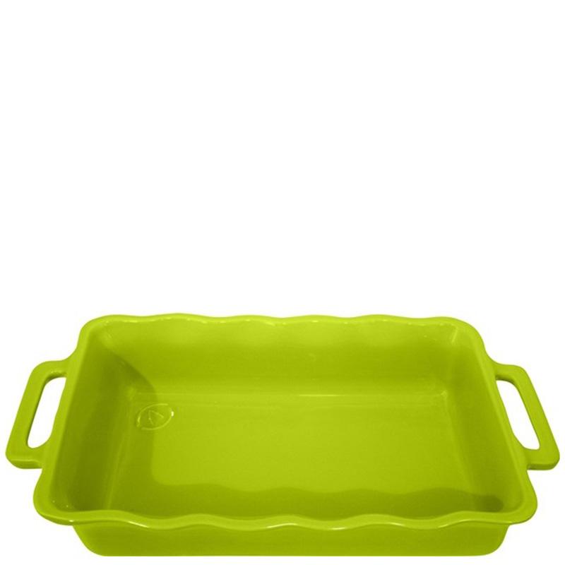 Форма прямоугольная Appolia Delices зеленого цвета 37,5х23,8см
