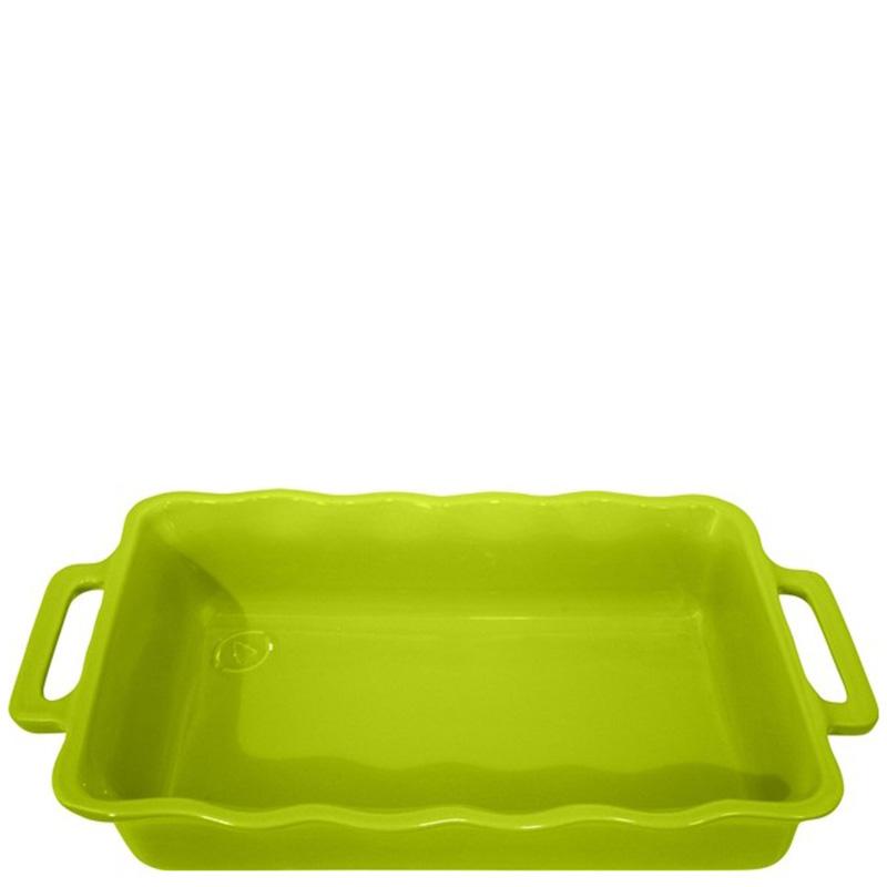 Форма прямоугольная Appolia Delices зеленого цвета 41,5х26см