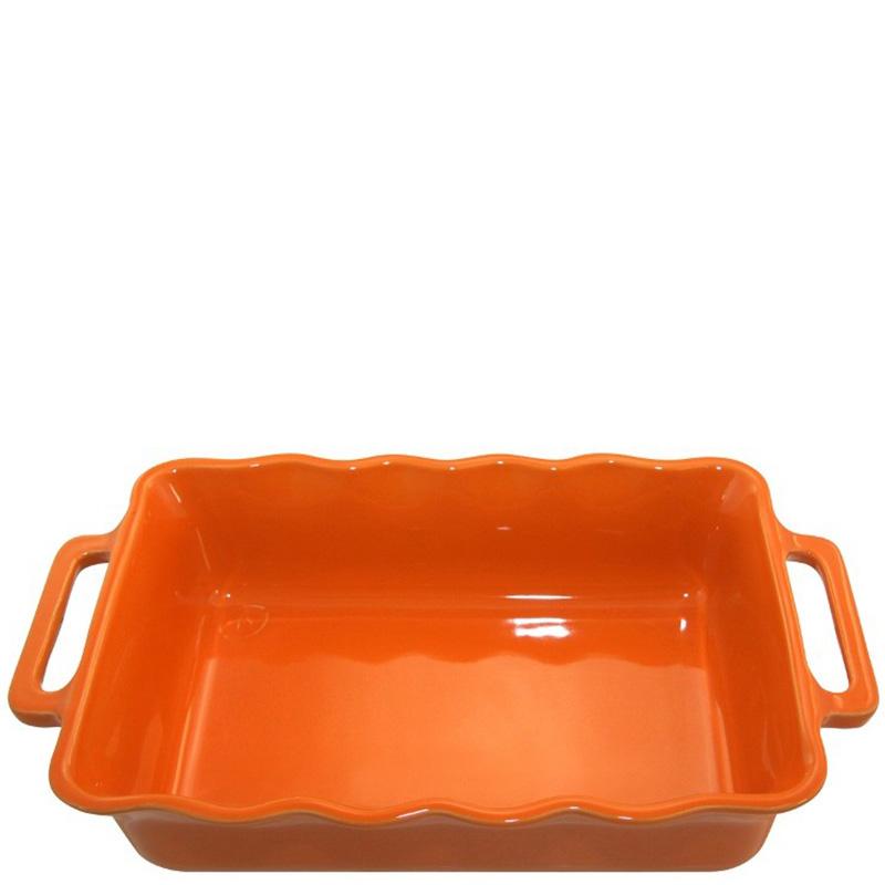 Форма прямоугольная Appolia Delices оранжевого цвета 41,5х26см