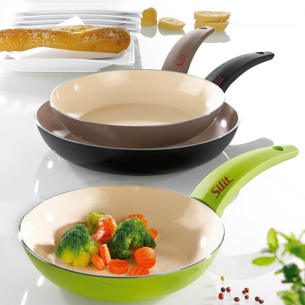 Сковорода Silit Selara 20 см керамическая серая