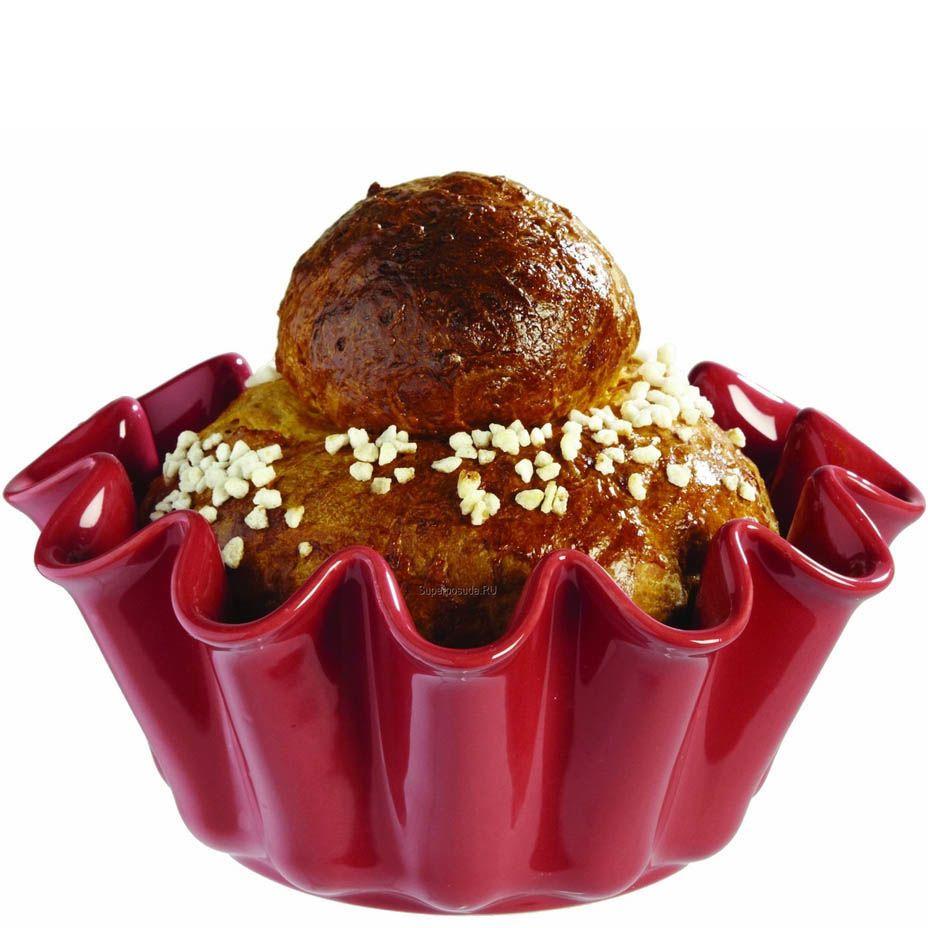 Форма для кекса Emile Henry Urban Colors красная оттенка Framboise 23 см