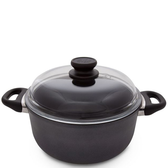 Кастрюля SKK Induction Titanium Non-Stick 5,5л 26см с крышкой