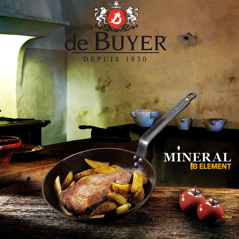 Сковорода De Buyer Mineral B Element 24 см