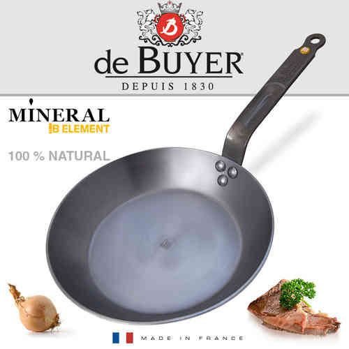 Сковорода De Buyer Mineral B Element 28 см