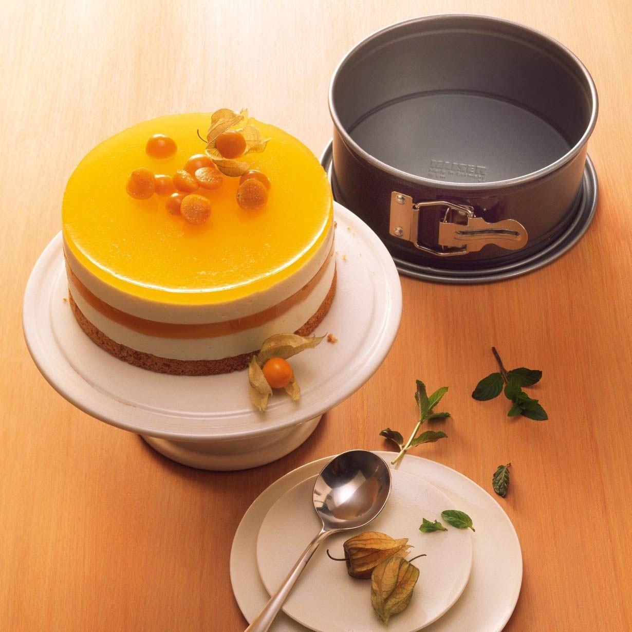 Форма для выпечки Kaiser Backform Bake And Play круглая 12 см со съемным дном