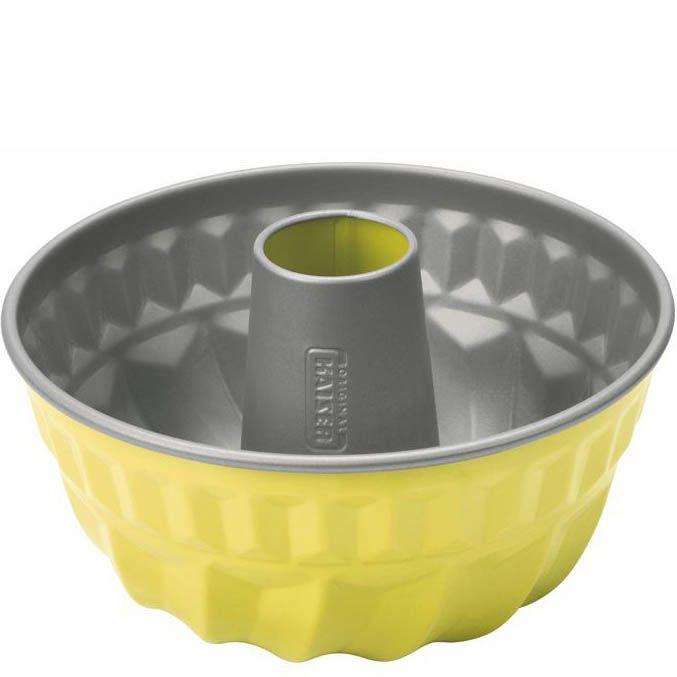 Форма для кекса Kaiser Backform Color желтая 22 см