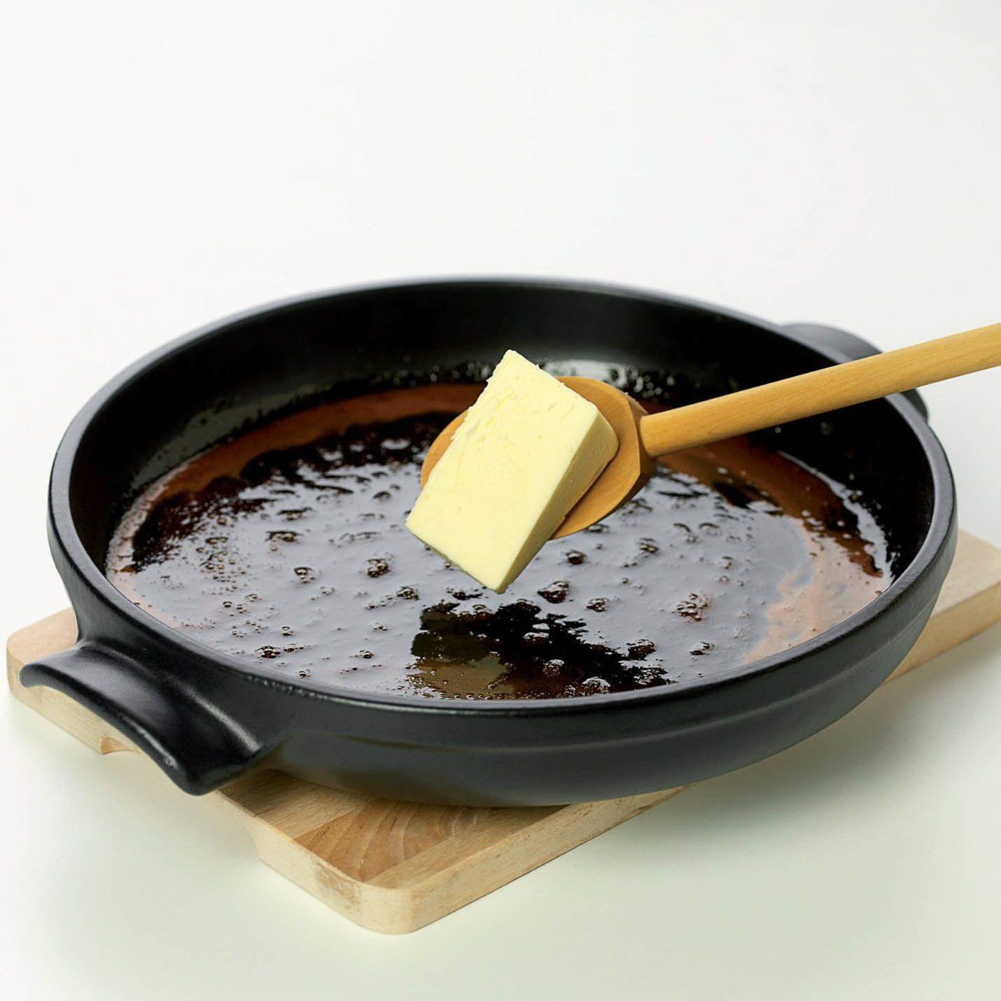 Форма керамическая Emile Henry Flame Noir 30 см для Tarte Tatin с сервировочным блюдом