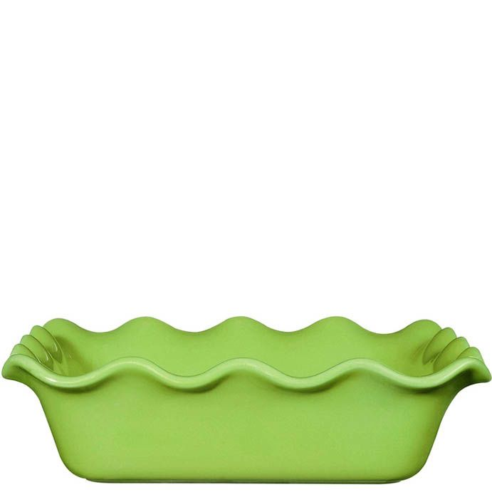 Форма для запекания Emile Henry Urban Colors керамическая квадратная 24 см зеленого цвета Granny
