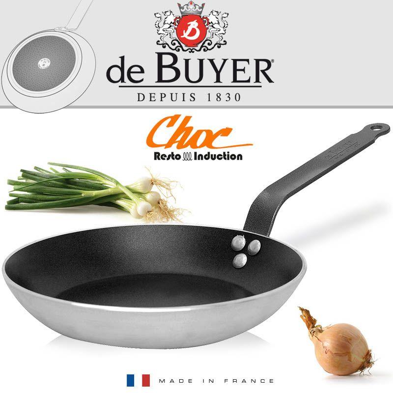 Сковорода 28 см De Buyer Сhoc Resto Induction