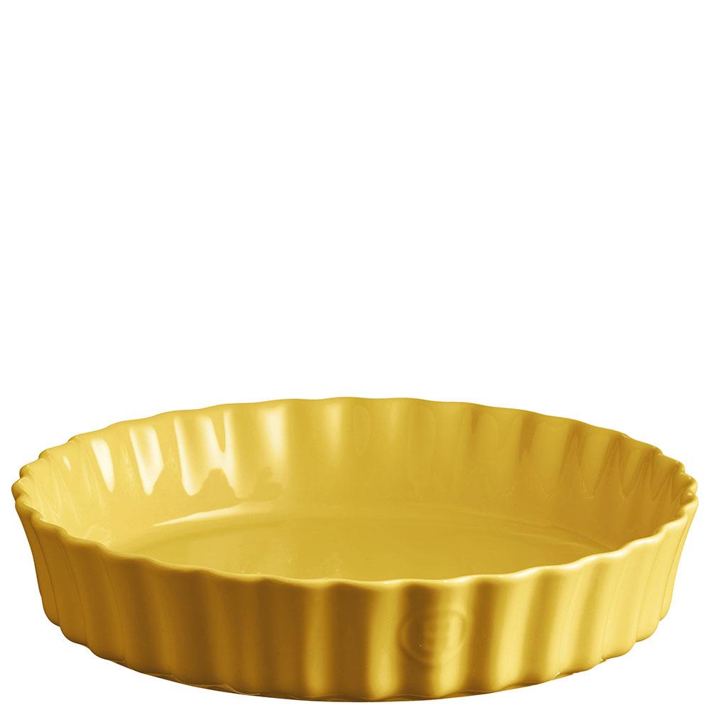 Большая форма для запекания Emile Henry желтая 29см
