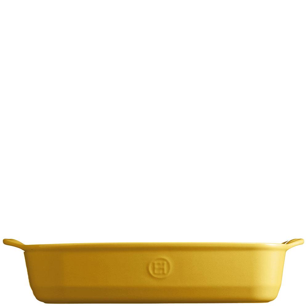 Форма для запекания Emile Henry 36x23см желтого цвета