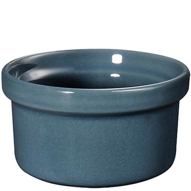 Форма порционная Emile Henry Natural Chic Pavot серо-голубая 150 мл