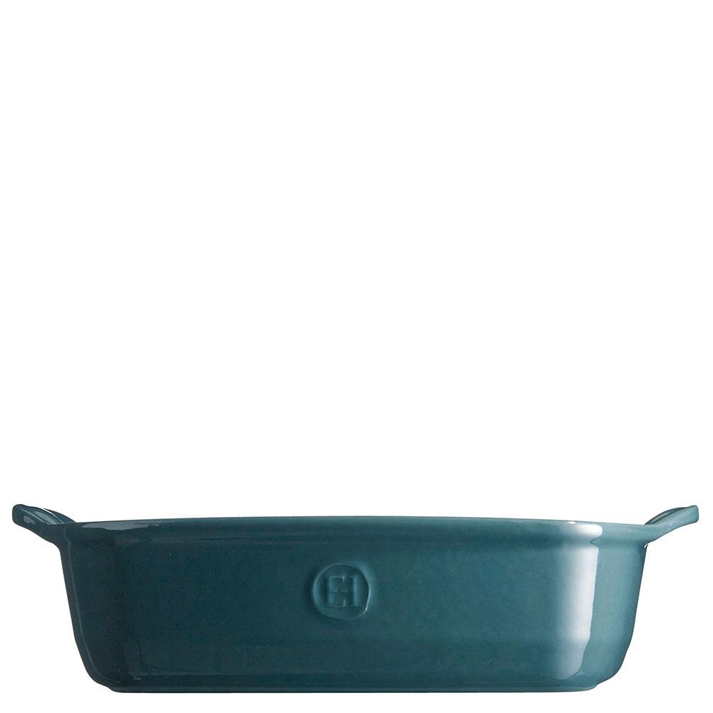 Форма для запекания Emile Henry Ovenware синего цвета 28х23см