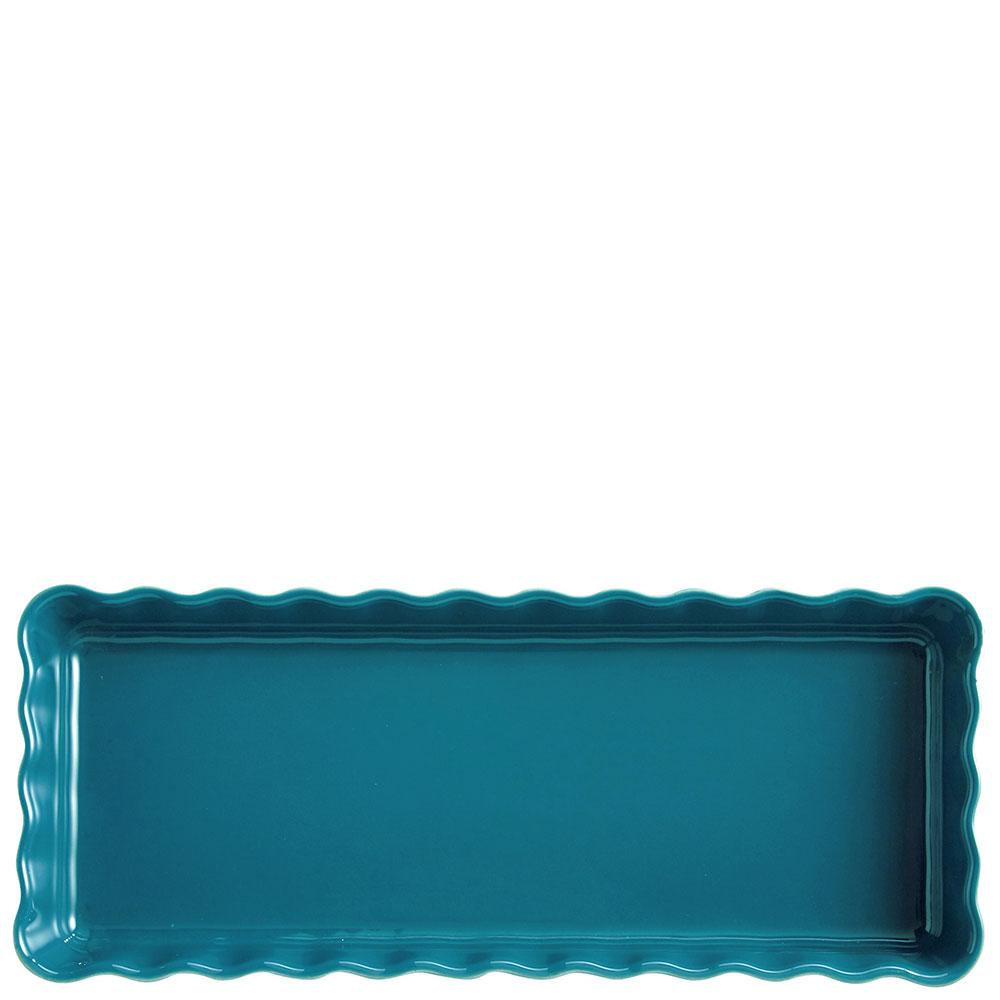 Форма для выпечки Emile Henry Ovenware синяя 15х36см