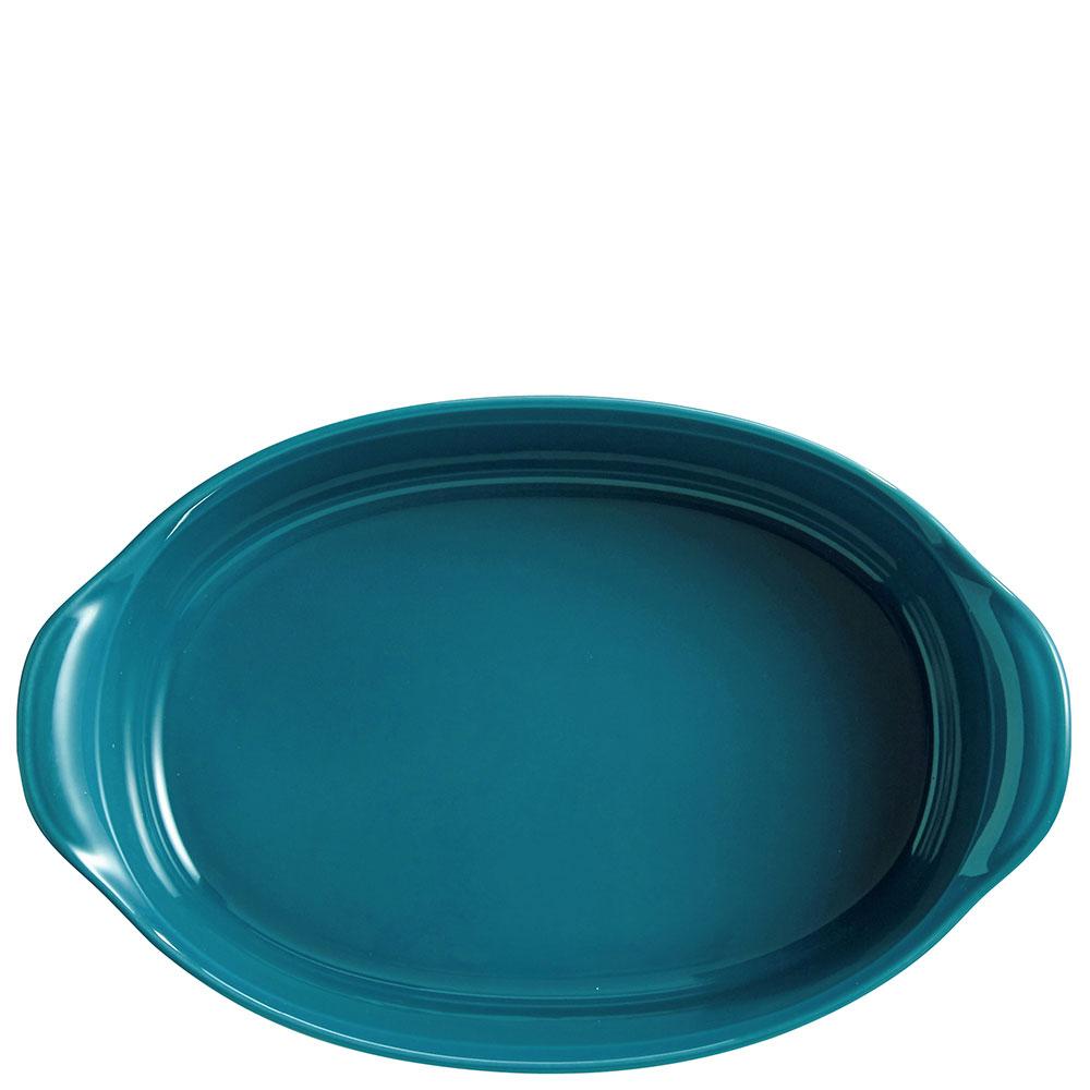 Форма для запекания Emile Henry Ovenware синего цвета 27х17,5см