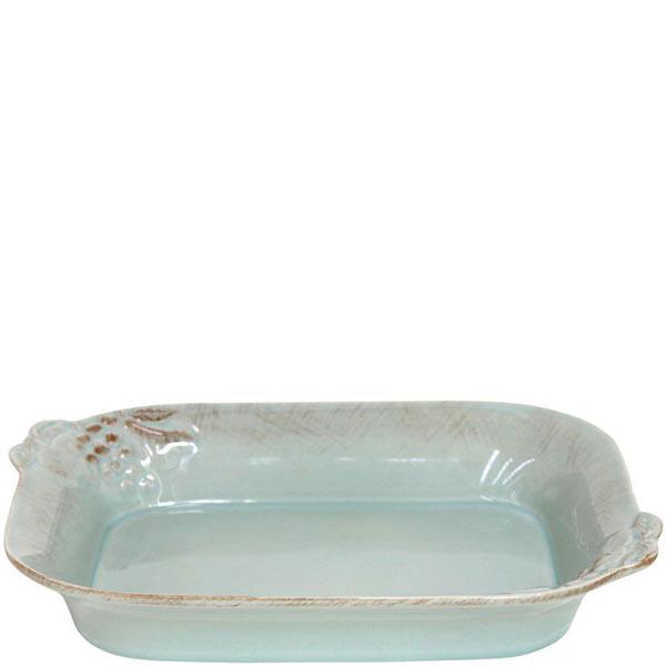 Блюдо для лазаньи Costa Nova Mediterranea 30x23x6см голубое
