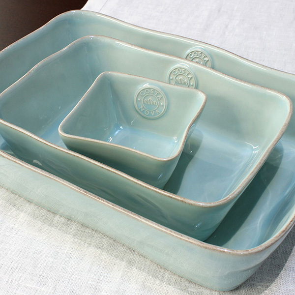 Форма для выпекания голубая Costa Nova Nova 35.5х25.6см