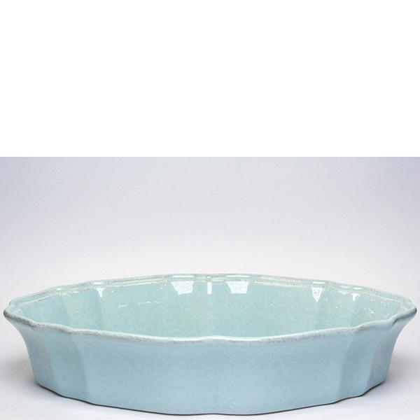 Блюдо для запекания Costa Nova Impressions 35x24x7см голубое