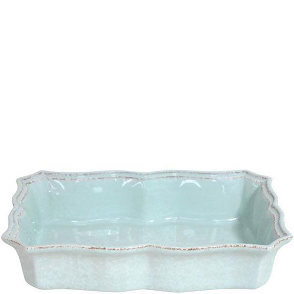 Форма для выпечки лазаньи Costa Nova Impressions голубая 30x21x6.5см