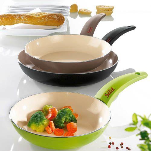Сковорода Silit Selara 20 см керамическая серая, фото
