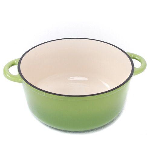 Казан чугунный Mario Batali на 5.6 л салатово-зеленый, фото