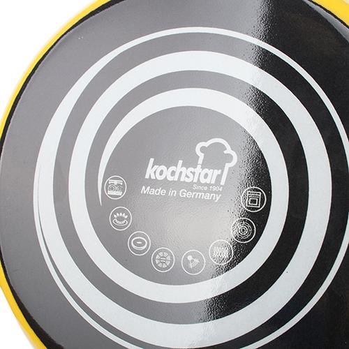 Желтая кастрюля Kochstar Neo 2л с крышкой, фото