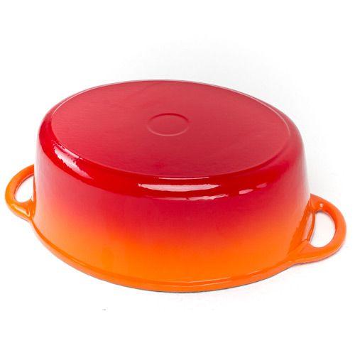 Казан чугунный Mario Batali на 5.7 л оранжевый, фото