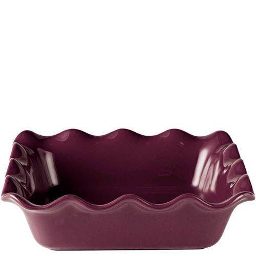 Форма для запекания Emile Henry Urban Colors Figue керамическая квадратная 24 см, фото