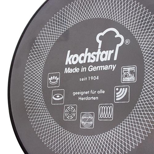 Кастрюля с крышкой Kochstar Metallica 3,7л темно-серого цвета, фото